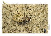 Northern Beach Tiger Beetle Marthas Carry-all Pouch
