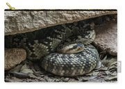 Northern Black-tailed Rattlesnake 2 Carry-all Pouch
