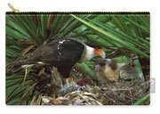 Northern Caracara Feeding Chicks Carry-all Pouch