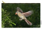 Northern Cardinal Hen Carry-all Pouch