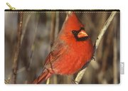 Northern Cardinal Male Long Island Carry-all Pouch