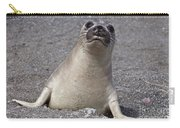 Northern Elephant Seal Weaner Carry-all Pouch