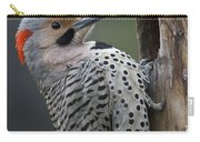 Northern Flicker At Nest Cavity Alaska Carry-all Pouch