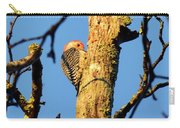 Northern Flicker At Sunrise Carry-all Pouch