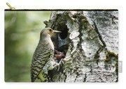 Northern Flicker Nest Carry-all Pouch