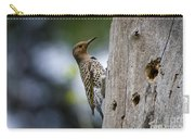 Northern Flicker Pictures 35 Carry-all Pouch