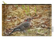 Northern Flicker Woodpecker Carry-all Pouch