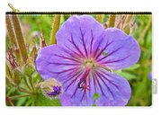 Northern Geranium By Transfiguration Of Our Lord Russian Orthodox Church In Ninilchik-ak Carry-all Pouch