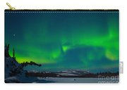 Northern Lights Or Aurora Borealis Carry-all Pouch