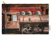 Northern Pacific Vintage Locomotive Train Engine Carry-all Pouch
