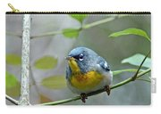 Northern Parula On Branch Carry-all Pouch