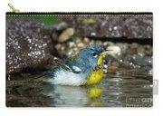 Northern Parula Parula Americana Soaking Carry-all Pouch