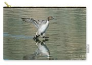 Northern Pintail Drake Tail Touching Carry-all Pouch