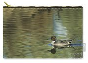 Northern Pintail In A Quiet Pond California Wildlife Carry-all Pouch