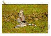 Northern Pintail In Flight Carry-all Pouch