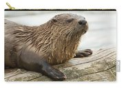 Northern River Otter Carry-all Pouch