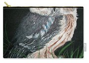 Northern Saw-whet Owl Carry-all Pouch by Sharon Duguay