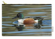 Northern Shoveler Drake Carry-all Pouch