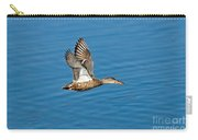 Northern Shoveler In Flight Carry-all Pouch