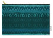 Northern Teal Weave Carry-all Pouch by CR Leyland