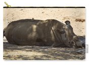 Northern White Rhinoceros - Ceratotherium Simum Cottoni Carry-all Pouch