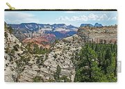 Northgate Peaks Trail From Kolob Terrace Road In Zion National Park-utah Carry-all Pouch