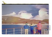 Painted Effect - Norwegian Coastline Carry-all Pouch by Susan Leonard