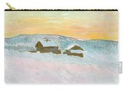 Norwegian Landscape, Blue Houses, 1895 Carry-all Pouch