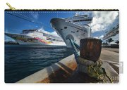 Norwegian Sky Carnival Sensation And Royal Caribbean Majesty Carry-all Pouch
