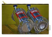 Nos Bottles In A Racing Truck Trunk Carry-all Pouch
