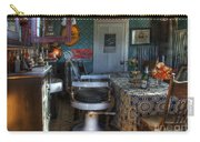 Nostalgia Barber Shop Carry-all Pouch by Bob Christopher