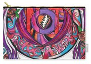 Not Fade Away Carry-all Pouch by Kevin J Cooper Artwork