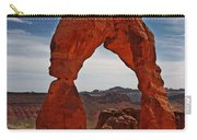 Not The Usual Delicate Arch View Carry-all Pouch