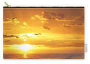 Not Yet - Sunset Art By Sharon Cummings Carry-all Pouch