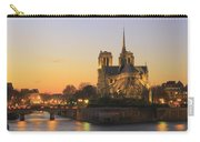 Notre Dame Cathedral At Sunset Paris France Carry-all Pouch