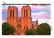 Notre Dame Cathedral Poster Carry-all Pouch