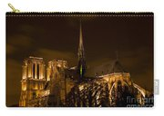 Notre-dame De Paris After Dark Carry-all Pouch
