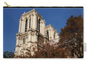 Notre-dame De Paris - French Gothic Elegance In The Heart Of Paris France Carry-all Pouch