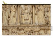 Notre Dame Detail Carry-all Pouch