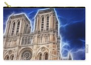Notre Dame Fractal Carry-all Pouch
