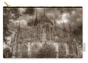Notre Dame From East Garden Carry-all Pouch