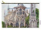 Notre Dame Paris In Spring Carry-all Pouch