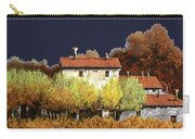Notte In Campagna Carry-all Pouch by Guido Borelli