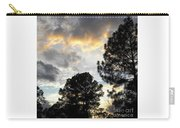 Nov 22 2011 Small Cross In Clouds Carry-all Pouch