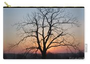 November Walnut Tree At Sunrise Carry-all Pouch