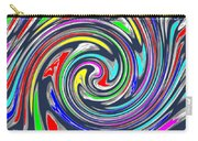 Novino Signature Art Walking Fine Lines Twirl Background Designs  And Color Tones N Color Shades Ava Carry-all Pouch