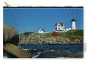 Nubble Light House York Beach Maine Carry-all Pouch