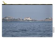 Nubble Lighthouse From Long Sands Beach Panorama Carry-all Pouch