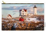 Nubble Light York Maine Carry-all Pouch