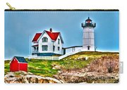 Nubble Lighthouse Cape Neddick Maine 2 Carry-all Pouch